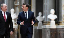 Emmanuel Macron reçoit Vladimir Poutine : les crises mondiales au cœur des discussions
