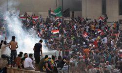 Irak, presqu'une année sans manifestations…