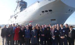 Escale à Toulon de la 5e Session nationale « Enjeux et stratégies maritimes »