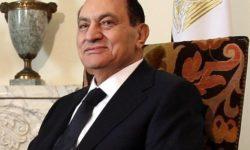 Portrait d'Hosni Moubarak