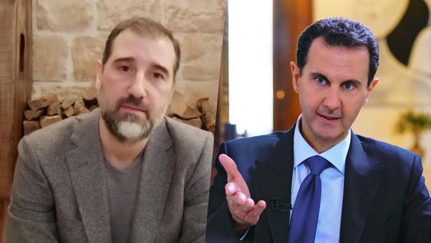 Rami Makhlouf et Bachar el-Assad